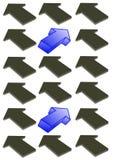 стрелки дирекционные Стоковое фото RF