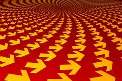 стрелки концентрические Стоковое Фото