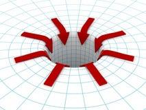 стрелки красные Стоковое Фото