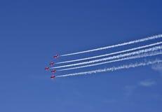 стрелки красные Стоковое фото RF