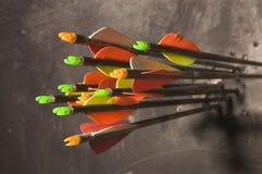 Стрелки на цели Стоковые Изображения RF