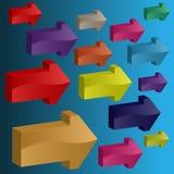 стрелки различные бесплатная иллюстрация