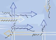 стрелки Стоковые Изображения RF