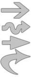 стрелки Стоковая Фотография RF