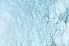 Стрельба макроса естественной драгоценной камня Текстура минерала кальцита абстрактная предпосылка Стоковая Фотография