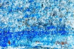Стрельба макроса естественной драгоценной камня Текстура минерального lazurite абстрактная предпосылка Стоковая Фотография RF