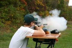 стрельба намордника затяжелителя Стоковые Изображения