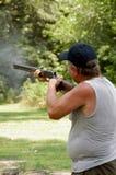 стрельба руки левая Стоковые Изображения RF