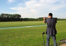 стрельба ряда Стоковое Изображение