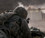 стрельба ряда Стоковые Фото