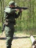 стрельба Стоковая Фотография