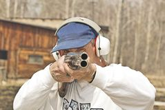 стрельба Стоковое Фото