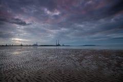 Стренга Ирландия Sandymount Стоковая Фотография RF