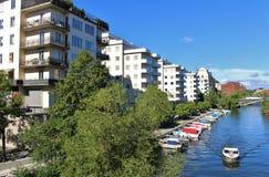 Стренга Kungsbro в Стокгольме Стоковая Фотография RF