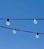 Стренги электрических лампочек Стоковые Фотографии RF