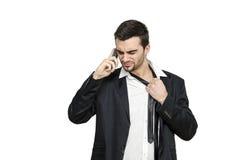 Стресс бизнесмена Стоковые Изображения