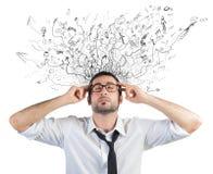 Стресс и запутанность стоковая фотография