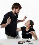 Стресс над деньгами Стоковое Изображение RF