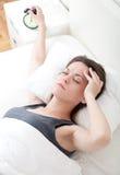 Стресс утра Стоковое фото RF