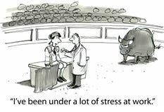 Стресс Стоковая Фотография