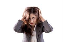 Стресс ` s женщин стоковая фотография