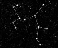 Стрелец созвездия Стоковое Изображение