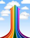 Стрелка радуги Стоковая Фотография RF