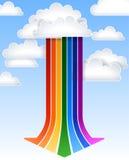 Стрелка радуги Стоковое Фото