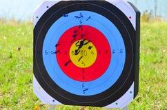 Стрелки в цели Стоковые Фотографии RF