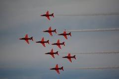 Стрелки красного цвета RAF Стоковые Изображения
