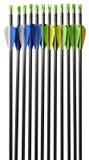 Стрелки для Archery изолированные на белизне Стоковые Фотографии RF