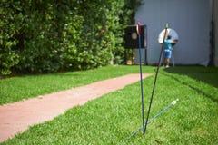 3 стрелки для archery стоковые изображения rf