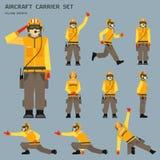Стрелок авианосца Стоковое Изображение