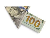 100 стрелок доллара Стоковая Фотография
