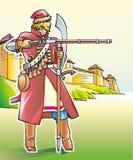 Стрелок ратника бесплатная иллюстрация