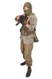 Стрелок с AK 47 Стоковые Фото