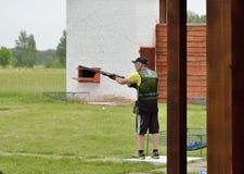 Стрельба ловушки Стоковая Фотография RF