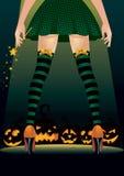 Стриппер ведьмы Стоковые Фото