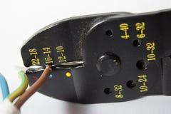 Стриппер провода Стоковое фото RF
