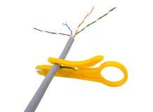 Стриппер провода Стоковые Фото