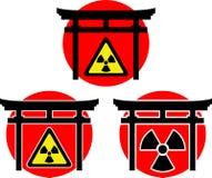 стробирует torii радиации иллюстрация штока