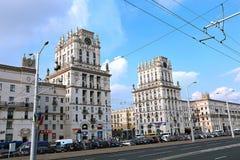 Стробы города Минска - 11 башен этажа Стоковое фото RF
