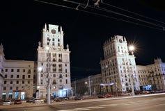 Стробы города Минска - 11 башен этажа Стоковая Фотография