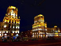 Стробы города p 2 Стоковые Фотографии RF