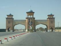 Стробы к городку Balkh, Афганистану Стоковое Изображение RF