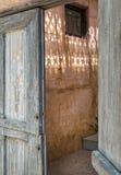 Стробы раскрывают к красивому освещению стоковая фотография