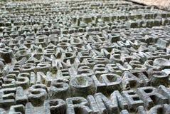 Стробы Sagrada Familia Стоковое фото RF