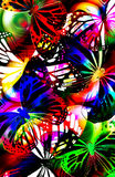 строб бабочки светлый Стоковые Фото