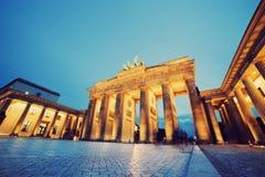 Строб Бранденбурга, Берлин, Германия Стоковые Изображения RF