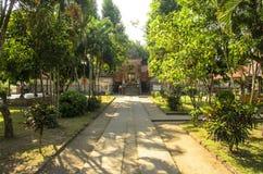 Строб буддийского виска, Индонезия Стоковые Изображения